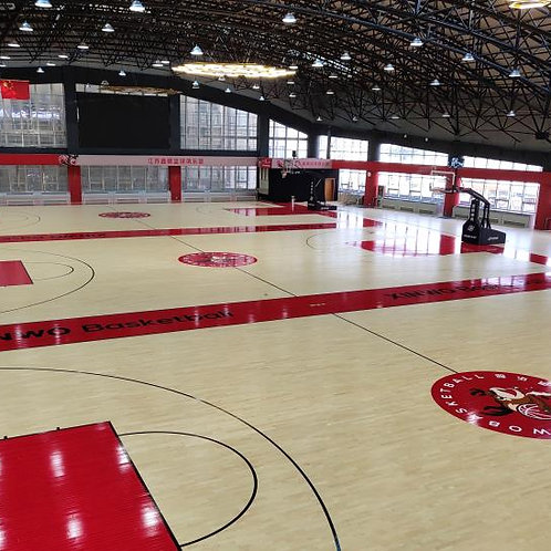 Indoor Basketball Court Flooring - Hardwood System [Certified by FIBA]