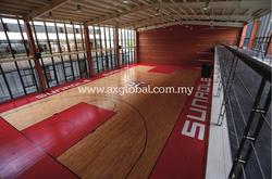 FIBA Basketball Floor