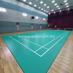 Badminton Court Mat - AX Global
