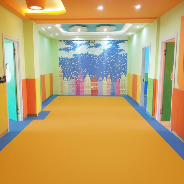 Kindergarten pvc flooring