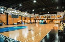 Basketball Court Hardwood Flooring