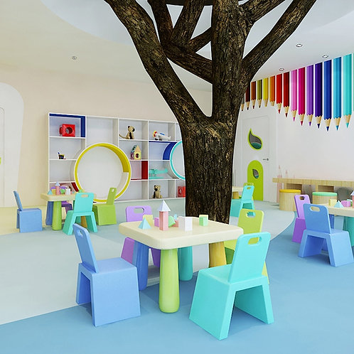 Kindergarten Classroom Flooring | DayCare Flooring