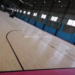 Indoor Basketball Vinyl Flooring