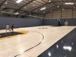 Movable Basketball FIBA Floor