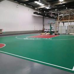 Indoor Basketball Floor