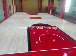 FIBA Basketball Court Floor