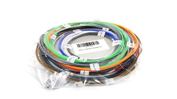 ECO - Filament sample kit 1.75 mm