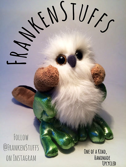 Frankenstuff, Toys, Handmade, Recyled, Mixed up, Weird, Etsy