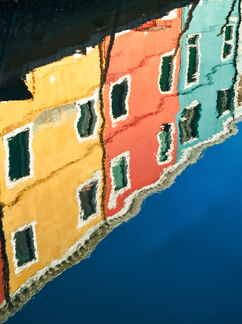 Bright Colorful Houses in Burano