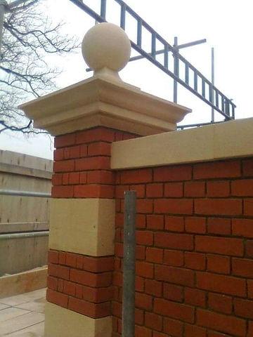 New build stonework