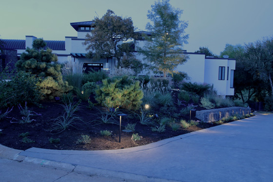 Exterior Lighting - Mira Vista, Fort Worth, Texas