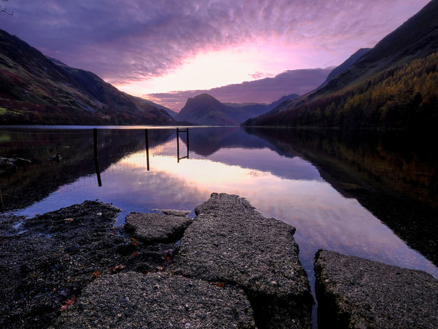 Dawn at Lake Buttermere