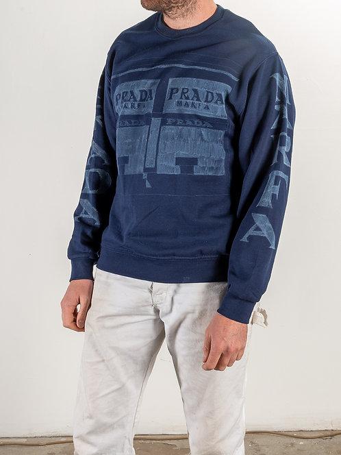 Prada Marfa Sweat Shirt - Blue