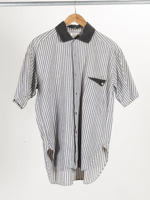 Matsuda Short Sleeve Button Up