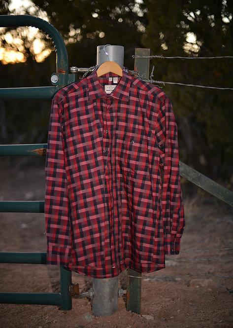 Haupt Checkered Dress Shirt