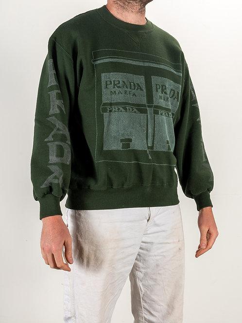 Prada Marfa Sweat Shirt - Green
