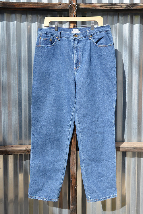 LL Bean Flannel Lined Jeans 38W