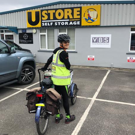 UStore Sandhurst proudly supports  Sandhurst Town Councils 'Clean Team'