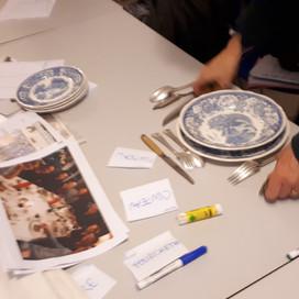 Ateliers langue & culture : Les arts de la table et de la cuisine