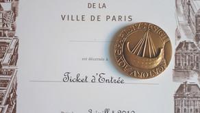 LA MÉDAILLE DE PARIS