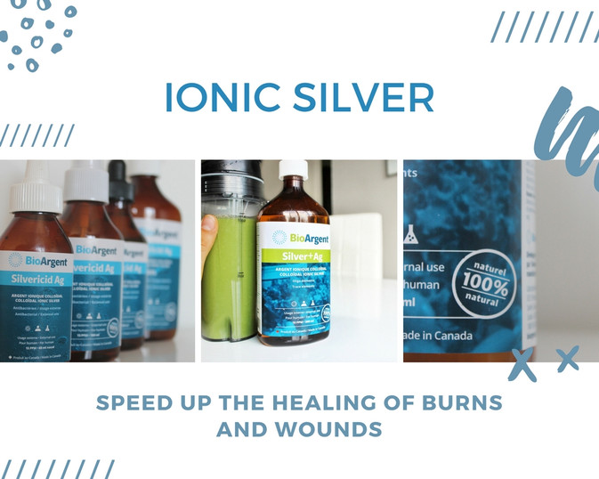 Ionic Colloidal Silver = your ally for healing