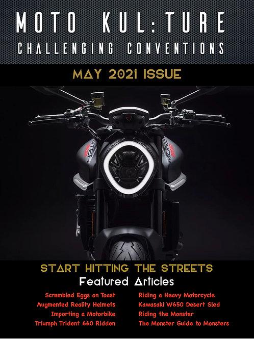 Moto-Kul:ture Magazine - May 2021