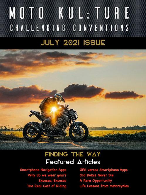 Moto-Kul:ture Magazine - July2021 Issue