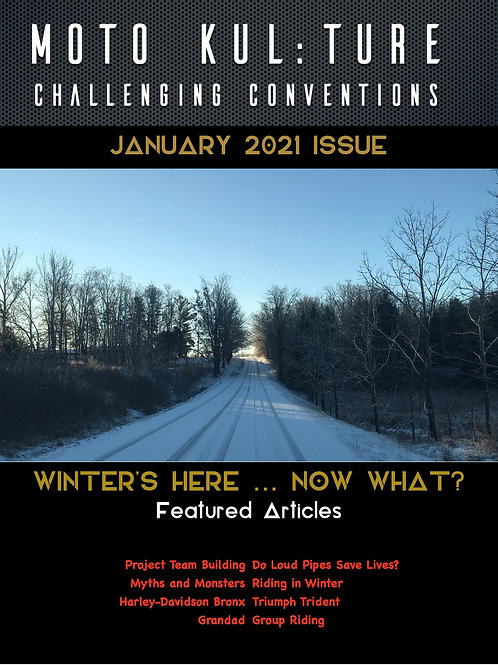 Moto-Kul:ture Magazine - January2021 Issue