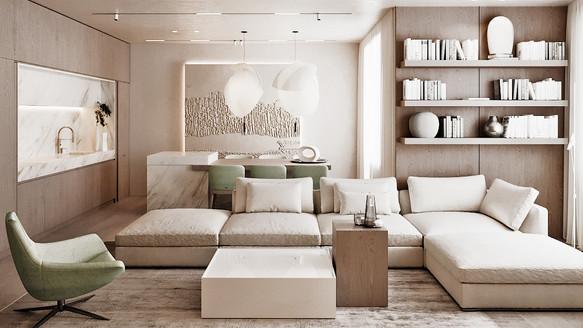Уютний мінімалізм від Senko Architects