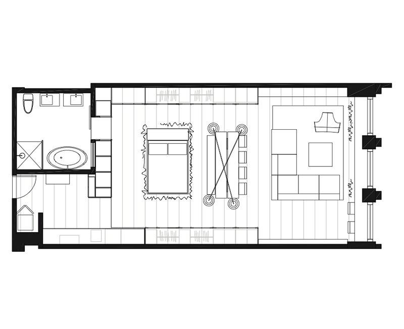 Rick Joy | ТОП 10  дизайн проектов квартир студий | блог SENKO architects | квартира студия | дизайн интерьера квартиры студии | смарт квартира интерьер | небольшая квартира дизайн | дизайн интерьера |минимализм | архитектурное бюро киев