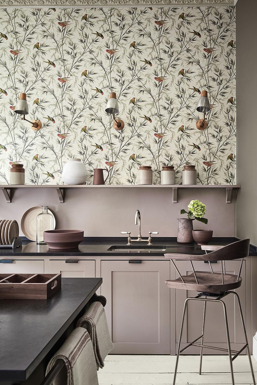 Kitchen  wallpaper |блог senko architects | Обои в  современном интерьере: клеить или не клеить? | обои на кухне | обои дизайн интерьера | дизайнер интерьера украина киев