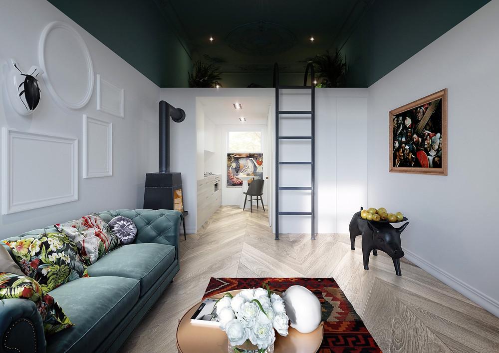Interiors Home and Wood | ТОП 10  дизайн проектов квартир студий | блог SENKO architects | квартира студия | дизайн интерьера квартиры студии | смарт квартира интерьер | небольшая квартира дизайн | дизайн интерьера |минимализм | архитектурное бюро киев | квартира-студия
