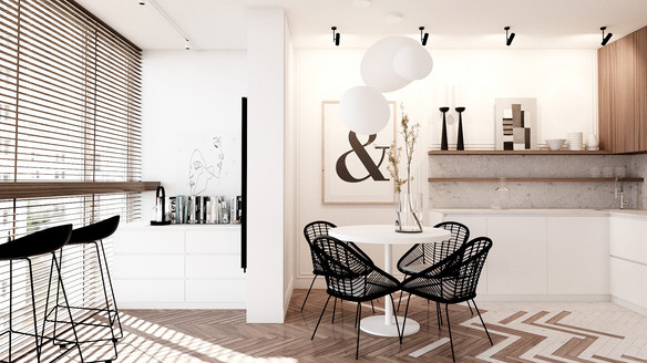 Rusanovska gavan Kyiv interior design