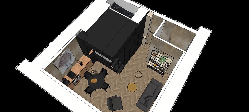 Вatiik | ТОП 10  дизайн проектов квартир студий | блог SENKO architects | квартира студия | дизайн интерьера квартиры студии | смарт квартира интерьер | небольшая квартира дизайн | дизайн интерьера |минимализм | архитектурное бюро киев