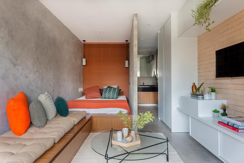 TRIA Arquitetura | ТОП 10  дизайн проектов квартир студий | блог SENKO architects | квартира студия | дизайн интерьера квартиры студии | смарт квартира интерьер | небольшая квартира дизайн | дизайн интерьера |минимализм | архитектурное бюро киев | квартира-студия
