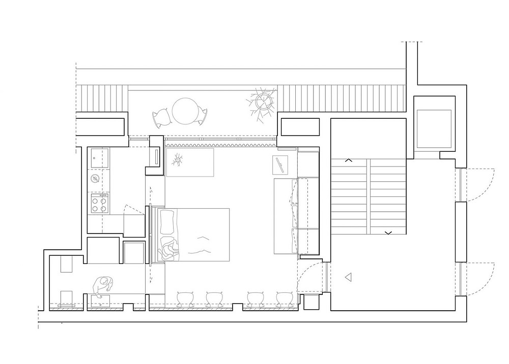 StudioWOK | ТОП 10  дизайн проектов квартир студий | блог SENKO architects | квартира студия | дизайн интерьера квартиры студии | смарт квартира интерьер | небольшая квартира дизайн | дизайн интерьера |минимализм | архитектурное бюро киев