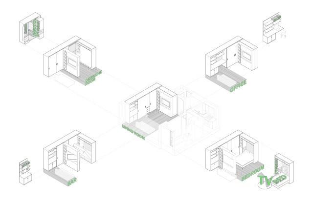mkca | ТОП 10  дизайн проектов квартир студий | блог SENKO architects | квартира студия | дизайн интерьера квартиры студии | смарт квартира интерьер | небольшая квартира дизайн | дизайн интерьера |минимализм | архитектурное бюро киев