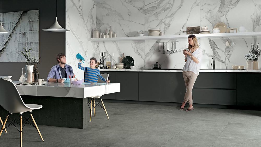 Mirage| серый цвет в интерьере. блог об архитектуре и дизайне. Senko architects | blog |дизайн интерьера украина |дизайнер  интерьера украина | скандинавский стиль в интерьере | интерьер в скандинавском стиле | интерьер кухни столовой | современный дизайн | мрамор в интерьере