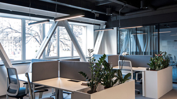 Office interior design Kyiv