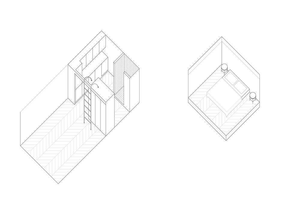 Interiors Home and Wood | ТОП 10  дизайн проектов квартир студий | блог SENKO architects | квартира студия | дизайн интерьера квартиры студии | смарт квартира интерьер | небольшая квартира дизайн | дизайн интерьера |минимализм | архитектурное бюро киев
