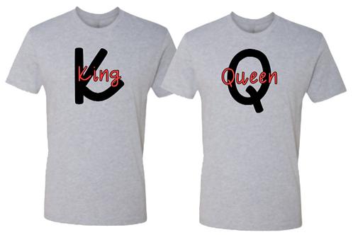 King (K) & Queen (Q)