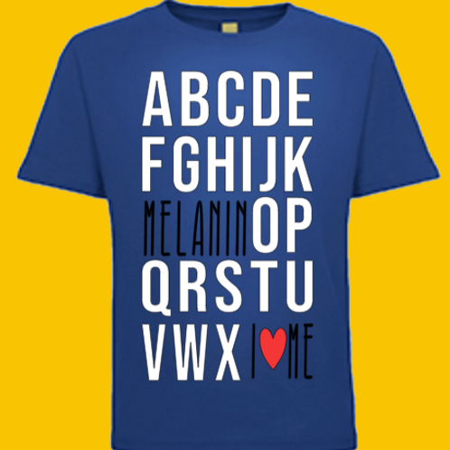 Melanin Alphabet
