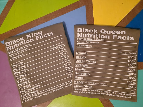 Black Nutrition Facts