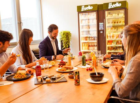 Warum der Livello Essensautomat die Mittagspause in Büros revolutioniert