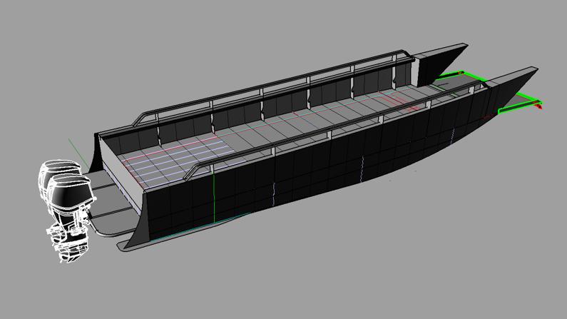 3611 welded hull