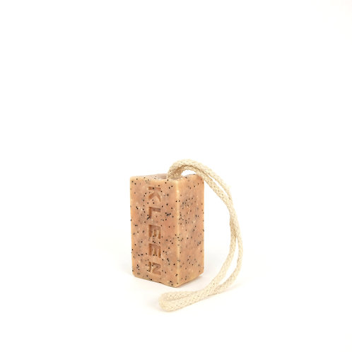 Foot Loose - 100% natural handmade soap on a rope
