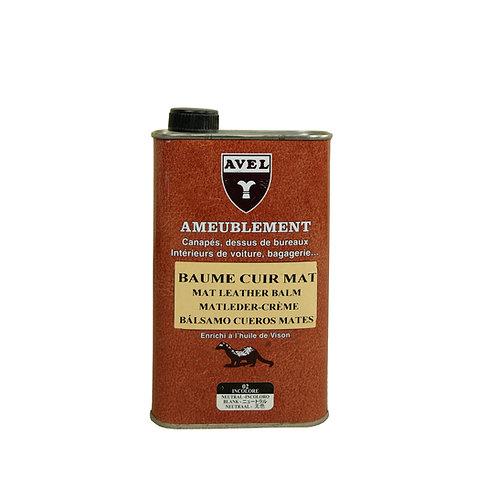 Avel Mat Leather Balm -0.5L