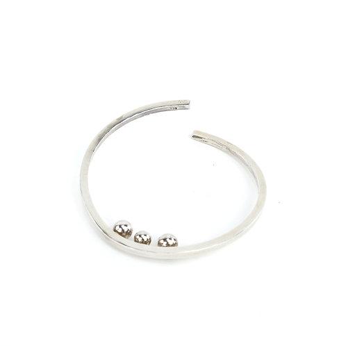 Handcrafted Silver Bracelet