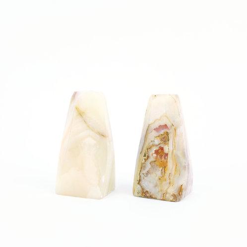 Alabaster Salt/Pepper Set