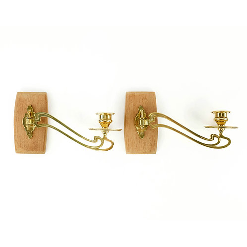 Art Deco Hanging Candle Holders